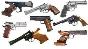 Réaliser une séance de tir avec des armes a feu pour l'enterrement de vie de garçon