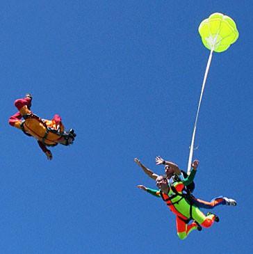 Activité – Saut en parachute