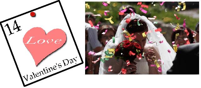 Activité – Un calendrier de mariée