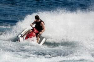Activité de ski nautique pour enterrement vie célibataire